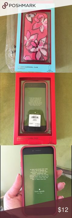 Kate spade iPhone 6 cover Good condition kate Spade hybrid case iPhone 6 cover kate spade Accessories Phone Cases