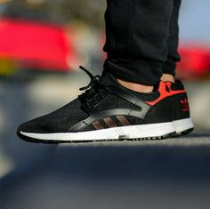 Follow>>>>    instagram >>> @jeffjeronimoo  Snapchat>>>       jeffiye         Adidas Racer lite EM, black-red