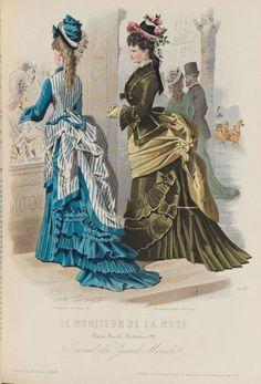 Le Moniteur de la Mode, July 1870's