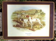 Vintage Sporting Dog Art - English Pointers - Great Decor for Home ...