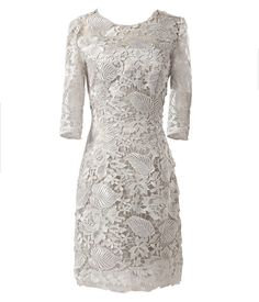 1/2 Sleeve lace mother of the bride/groom dress 50s women formal occasion Dress