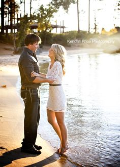 Lake Tahoe Engagement Session at Sand Harbor.