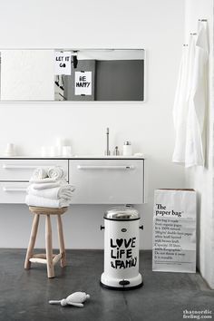 Styling: that nordic feeling & Boligcious for Vipp & Bodie and Fou - via thatnordicfeeling.com