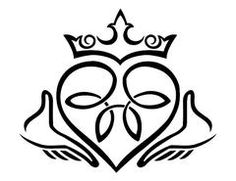 16 powerful claddagh tattoos artsy pinterest claddagh tattoo rh pinterest com Bethleham Star Clip Art North Star Clip Art