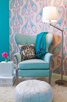 Teen Girl's Rooms - modern - bedroom - los angeles - JAC Interiors