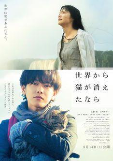 佐藤健主演「せか猫」新予告、「生きてやる!」と号泣する宮崎あおいの姿も - 映画ナタリー