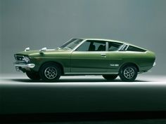 Datsun Sunny Excellent Coupe - Influx Classic Japanese Cars, Classic Cars, Car Photos, Car Pictures, Datsun Car, Nissan Sunny, Small Cars, Car Car, Hot Cars