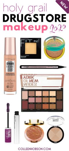 Check out our updated list of the best drugstore makeup products worthy of holy grail status in 2020. #best #drugstore #makeup #2020