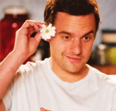 Nick Miller has a textbook crooked nose. It is essential to his look in my opinion. New Girl Series, New Girl Tv Show, Tv Series, Nick Und Jess, New Girl Nick And Jess, Beautiful Men, Beautiful People, Pretty People, I Hate Boys