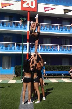 This is my goal !!!!!!! I love being a all star cheer leader