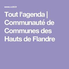 Tout l'agenda | Communauté de Communes des Hauts de Flandre
