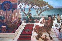 El espíritu del arte mexica capturado en la obra de Rick Ortega • NeoMexicanismos