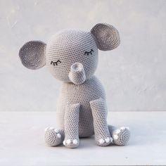Animals And Pets, Free Crochet, Lana, Crochet Patterns, Teddy Bear, Toys, Elephant Pattern, Free Pattern, Animales