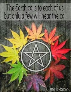 Paganism •~• The Earth calls to each of us...