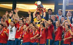 Spain 4 Italy 0, Euro Cup 2012