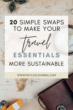 Here is my low waste/zero waste travel guide! Included are eco friendly travel essentials, sustainable swaps, and my best tips for sustainable travel!