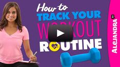 [VIDEO]: How to Track Your Workout Routine from https://www.alejandra.tv/blog/2014/11/video-how-to-track-workout-routine/?utm_source=Pinterest&utm_medium=Pin&utm_content=WorkoutRoutine&utm_campaign=WeeklyVideo