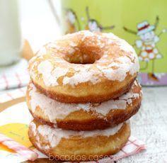 New York Cheesecake Bakery Recipes, Cooking Recipes, Creative Kitchen, Churros, Sugar Donut, Small Desserts, Mini Donuts, Donuts Donuts, Pan Dulce