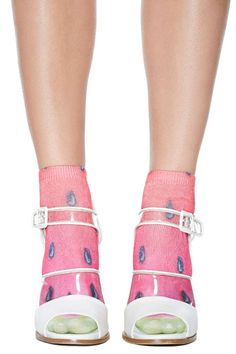 8829e116bed Good Seed Ankle Socks - Watermelon Soulier