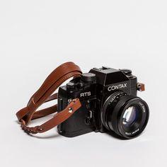 DESIGNSTRAPS Ciesta Leder Kameraband MANO CSS-HM12 (hellbraun)   selekkt.com