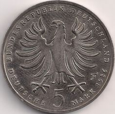 Wertseite: Münze-Europa-Mitteleuropa-Deutschland-Deutsche-Mark-5.00-1986-Friedrich der Große