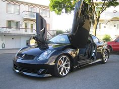 Infiniti G35 Coupe With Lambo Doors New Hip Hop Beats Uploaded Every Single Day Http