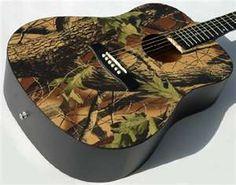 Camo guitar