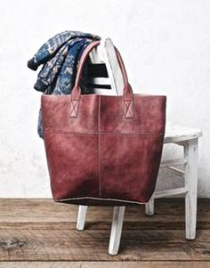 NEW Free People red wine distress leather Legends Of The Fall Tote Bag $168 #FreePeople #tote