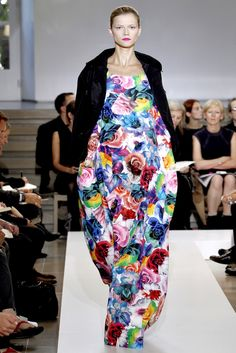 Jil Sander spring 2011.  colorful :)