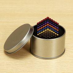 216Pcs 5mm Colorful DIY Neocube Magic Beads Magnetic Balls Puzzle Sale - Banggood.com