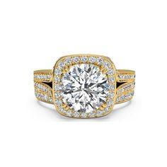 IGI Certified 1.25 Ct Diamond Engagement Ring Set Solid 18K Yellow Gold 6 7 8 9 #Handmade