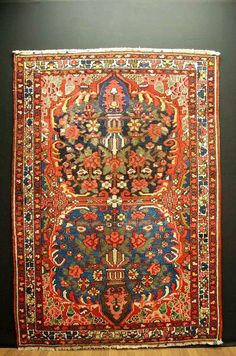 Antiker Teppich antique rug ca: 200x155cm antico tappeto