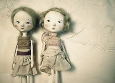 Petites Amis Photography Art dolls friendshipWall Art por holli