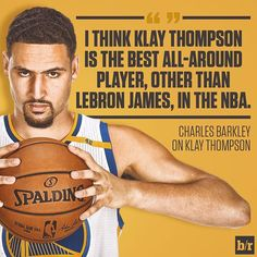 Charles Barkley thinks Klay Thomson is the best all-around player in the NBA after LeBron