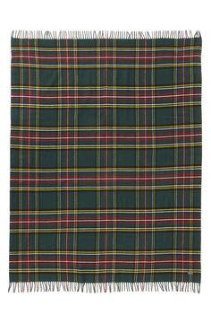 Faribault Woolen Mill 'Royal Carefree Stewart' Plaid Wool Throw