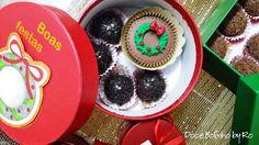 Cupcake Natal e Brigadeiros - Mimos para o Natal