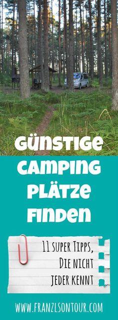 Hast du auch die Nase voll von völlig überteuerten Campingplätzen? Dann helfen dir unsere Tipps mit Sicherheit weiter...