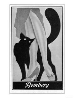 Stockings Advert. 1931 Impressão giclée