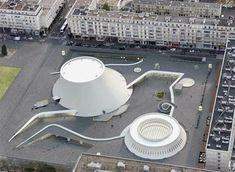 Biblioteca Oscar Niemeyer Le Havre