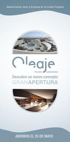 Eventos, cocina Mediterránea, coctelería, hamacas en la playa, música en directo, actividades de día y de noche, palcos privados... Oleaje Playa Granada desde el día 25 de Mayo.