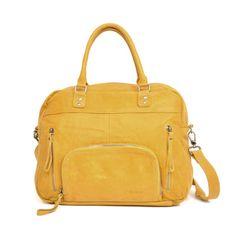 Macy Macy par nat&nin - sac à main en cuir Nat Et Nin, Designer Leather Handbags, Crossbody Bag, Tote Bag, Lemon Yellow, Kate Spade, Wallet, Purses, My Style