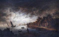 BBC - Your Paintings - Night Scene - van der Neer