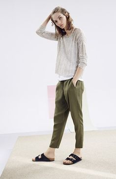 Eileen Fisher The Fisher Project Slouchy Ankle Pants | Nordstrom