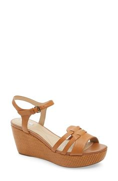 02ccbcd86d06 Geox  Thelma 2  Ankle Strap Wedge Sandal (Women) available at  Nordstrom