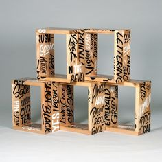 East Editions bring together graffiti and furniture with unexpectedly great results