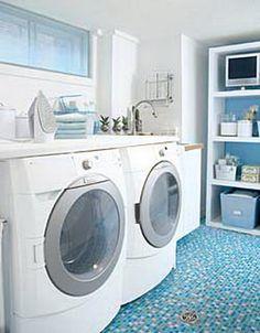 Ideas para decorar el lavadero