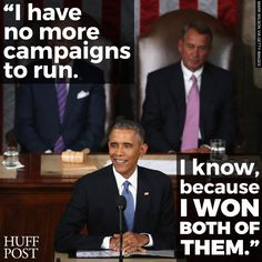 President Barack Obama's epic State of the Union zinger