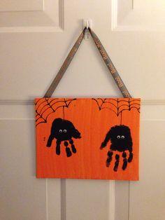 Great toddler spider craft!