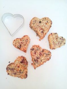 oaty health bars - recipe out now on our blog - only 4 ingredients oats nuts fruit & condensed milk!
