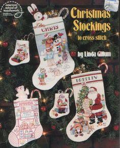 Gallery.ru / Bilde # 1 - Christmas sokker - cross-stitch - rondo32